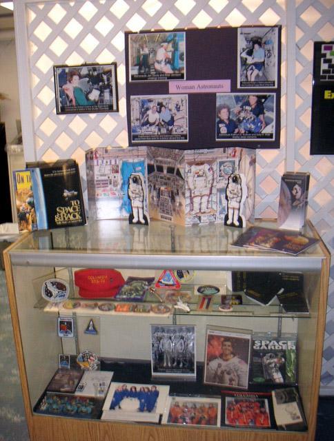 Ausstellung über Astronautinnen